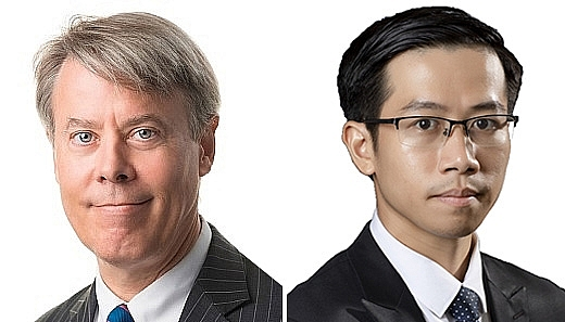 Frederick Burke, managing partner of Baker McKenzie and Nguyen Thanh Hai, special counsel