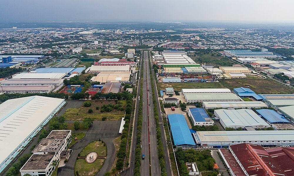 My Phuoc Industrial Park in the southern province of Binh Duong. Photo courtesy of Becamex IDC Corp.