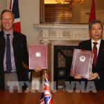 Hiệp định thương mại tự do giữa Việt Nam và Vương quốc Anh (UKVFTA) vừa được ký tối 29/12.