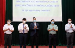 An Phat Holdings supports VND 20 billion to buy Covid-19 vaccines