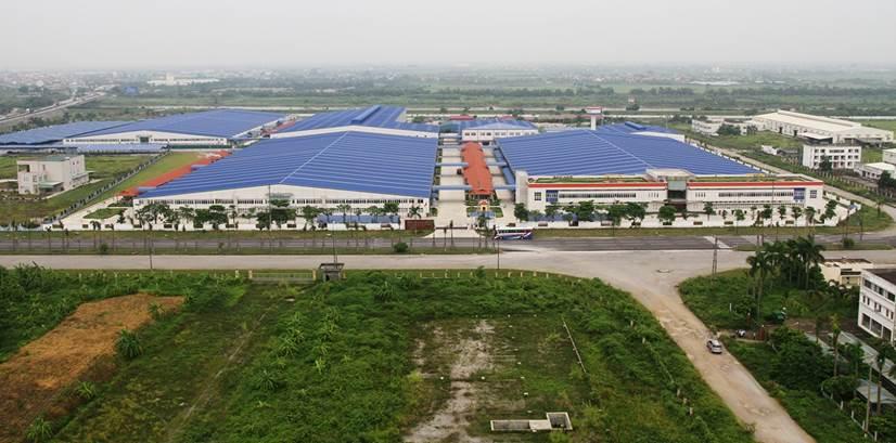 Chủ đầu tư Công ty TNHH May Tinh Lợi đã quyết định đầu tư 35 triệu USD xây dựng Nhà máy Tinh Lợi 3 tại cụm công nghiệp Nguyên Giáp (huyện Tứ Kỳ)