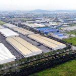 Một góc Khu công nghiệp và Đô thị VSIP Bắc Ninh với đầy đủ hạ tầng cơ bản. (Ảnh: Danh Lam/TTXVN)
