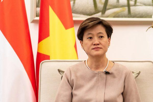 Đại sứ Singapore Catherine Wong tại Hà Nội ngày 24/7